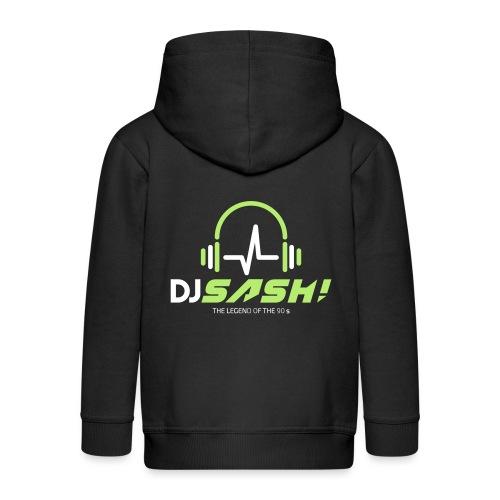 DJ SASH! - Headfone Beep - Kids' Premium Zip Hoodie