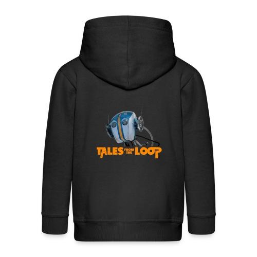 Tales from the loop - Kids' Premium Zip Hoodie