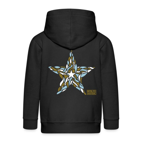 Star - Kinderen Premium jas met capuchon