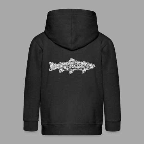 Line trout white - Lasten premium hupparitakki
