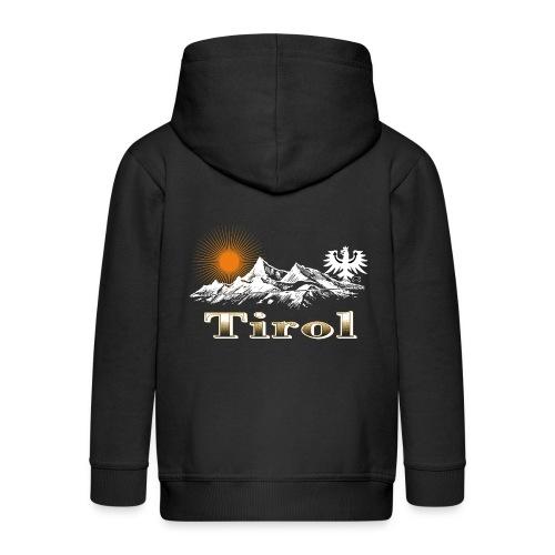 Tiroler Berge - Kinder Premium Kapuzenjacke