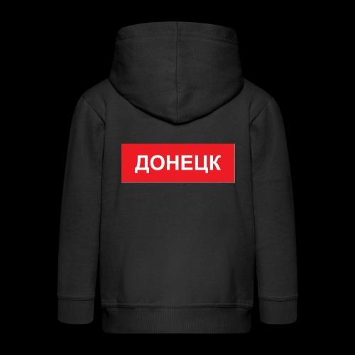 Donezk - Utoka - Kinder Premium Kapuzenjacke