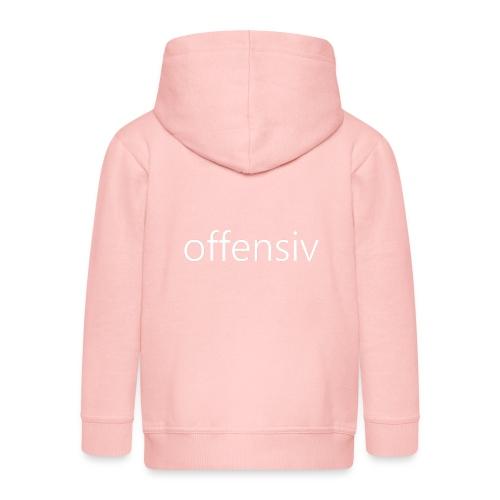 offensiv t-shirt (børn) - Premium hættejakke til børn