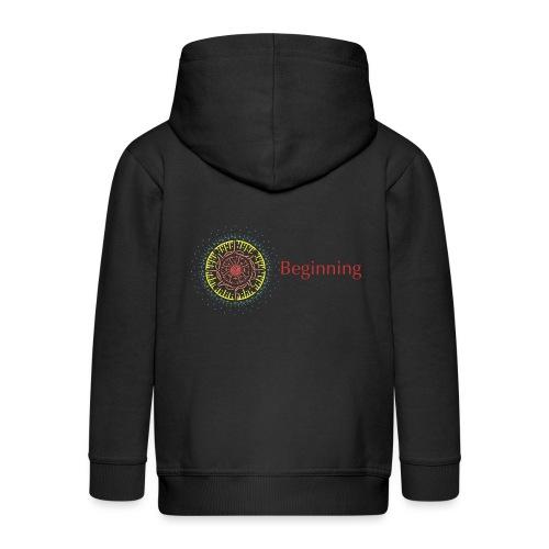 Beginning - Kids' Premium Zip Hoodie