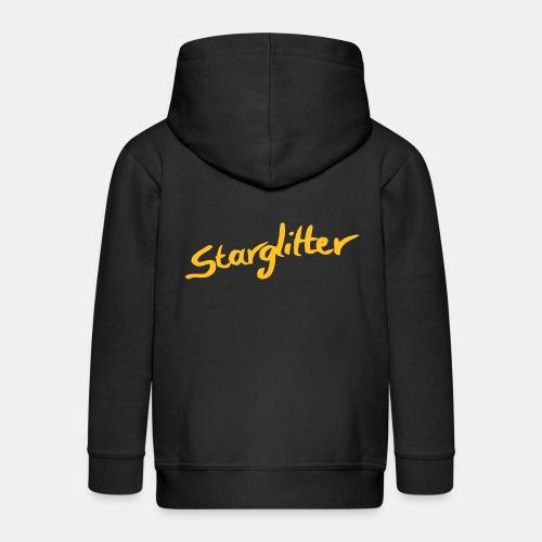 Starglitter - Lettering - Kids' Premium Zip Hoodie