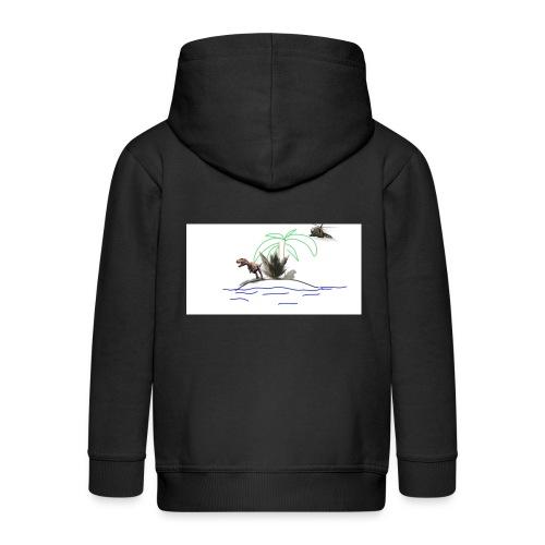 dino - Chaqueta con capucha premium niño