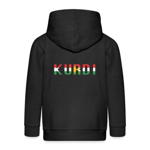 KURDI LOGO - Kinder Premium Kapuzenjacke