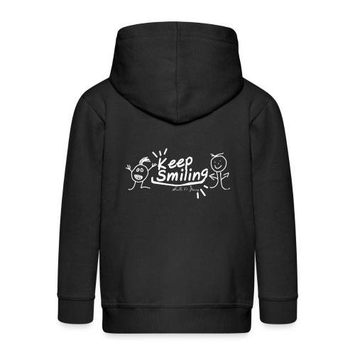 Keep Smile Kalle&Jimmy - Kinder Premium Kapuzenjacke