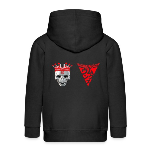skull krone humungus3 png - Kinder Premium Kapuzenjacke