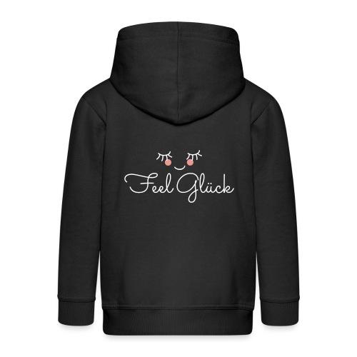 Feel Glück - Kinder Premium Kapuzenjacke