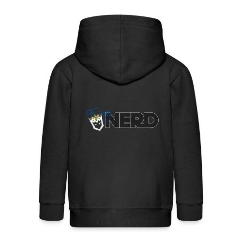 King-Nerd - Kids' Premium Zip Hoodie
