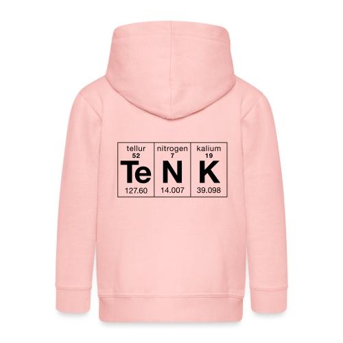 Te N K periodisk - Premium Barne-hettejakke