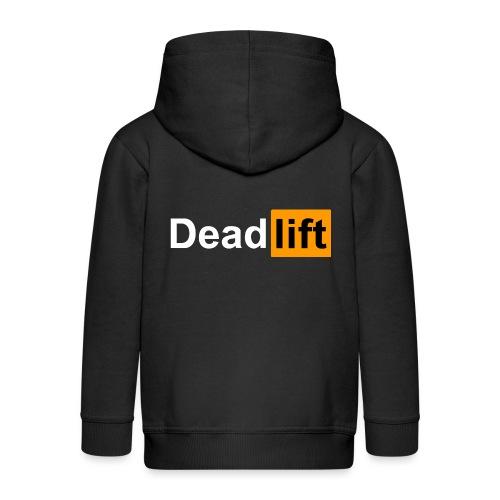 DeadLift X - Veste à capuche Premium Enfant