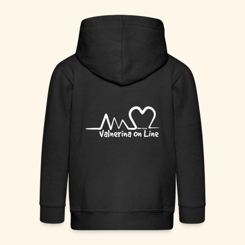 Valnerina On line APS maglie, felpe e accessori - Felpa con zip Premium per bambini