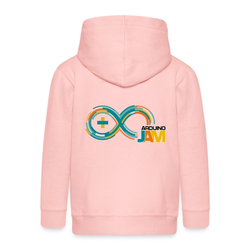 T-shirt Arduino-Jam logo - Kids' Premium Zip Hoodie