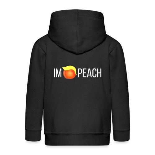 IMPEACH / Light Unisex Hoodie Sweat - Kids' Premium Zip Hoodie