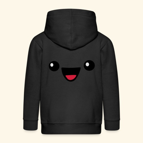 Kawaii Happy face - Kinder Premium Kapuzenjacke