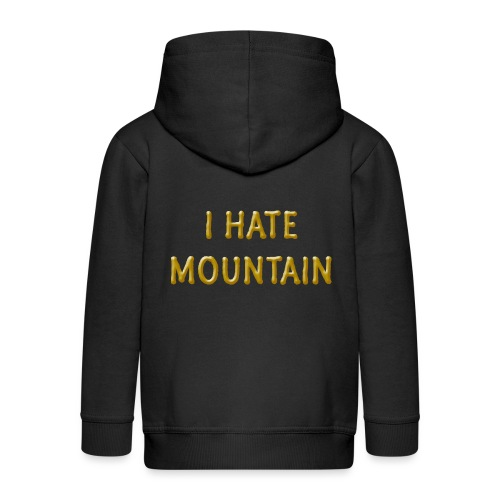 hate mountain - Kinder Premium Kapuzenjacke