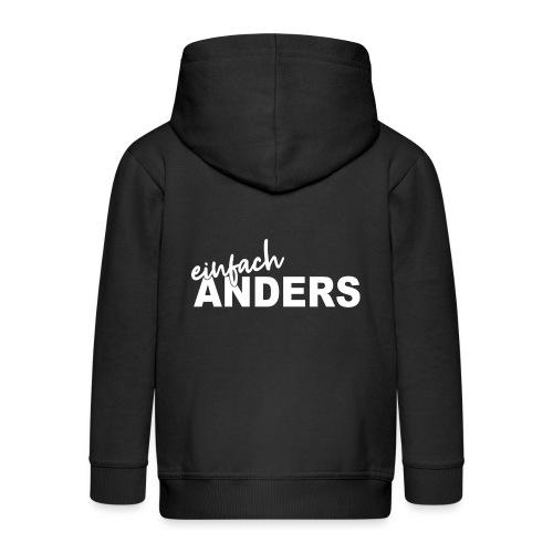 einfach ANDERS - Kinder Premium Kapuzenjacke