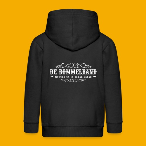bb tshirt back 02 - Kinderen Premium jas met capuchon