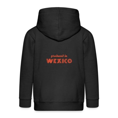 Produced in Wexico - Kids' Premium Zip Hoodie