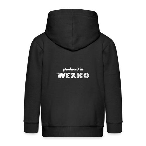 Wexico White - Kids' Premium Zip Hoodie