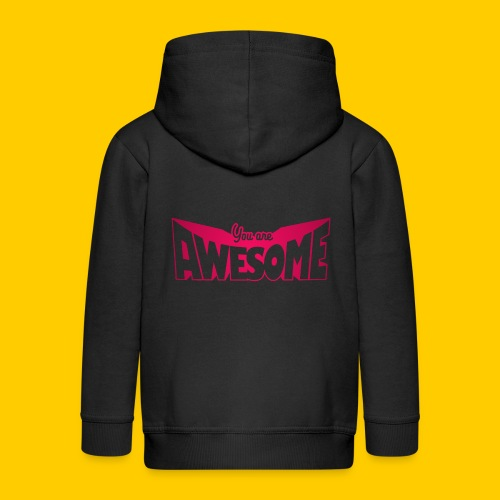 You are awesome - Premium-Luvjacka barn