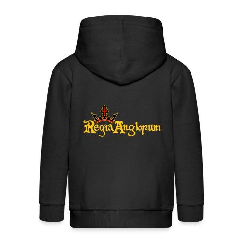 Regia Banner Yellow - Kids' Premium Zip Hoodie