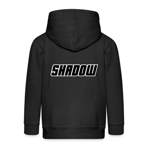 Logo Shadow Letters - Kinderen Premium jas met capuchon