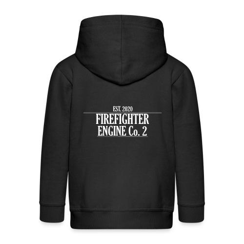 Firefighter ENGINE Co 2 - Premium hættejakke til børn