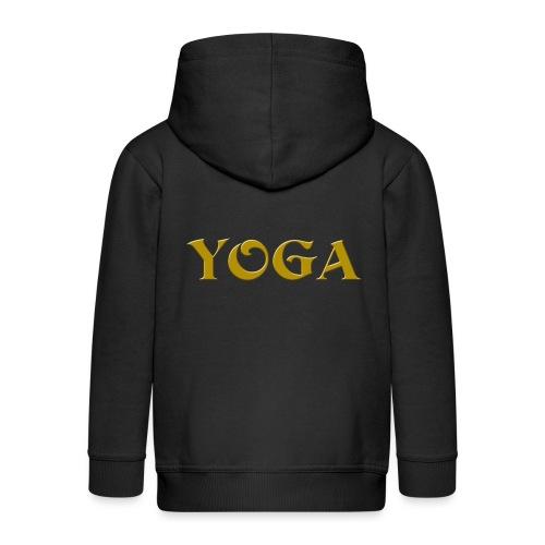 Yoga - Kinder Premium Kapuzenjacke