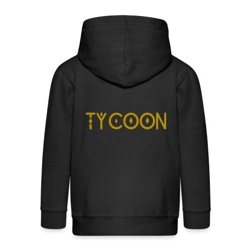 Tycoon Magnat Gigant - Kinder Premium Kapuzenjacke