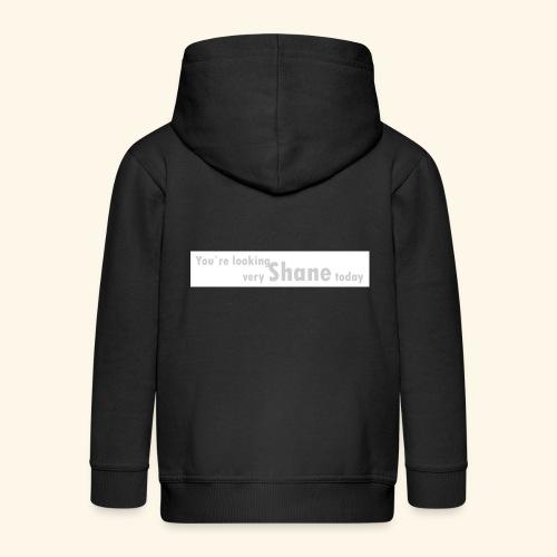 You`re looking very Shane today - Rozpinana bluza dziecięca z kapturem Premium