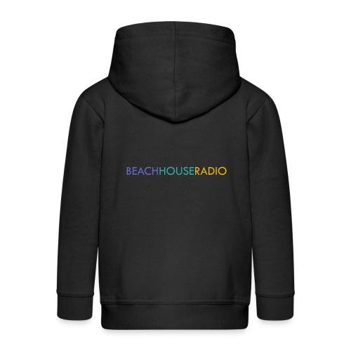 Beach House Radio Logo - Kids' Premium Hooded Jacket
