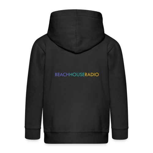 Beach House Radio Logo - Kids' Premium Zip Hoodie