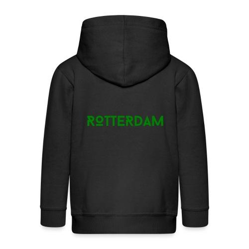 Rotterdam (Groen) - Kinderen Premium jas met capuchon