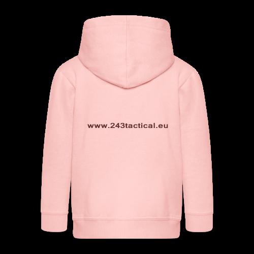 .243 Tactical Website - Kinderen Premium jas met capuchon
