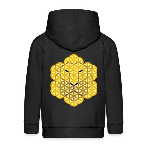 The Lion Of Life - Alpha Male, Mane 01. - Kids' Premium Hooded Jacket