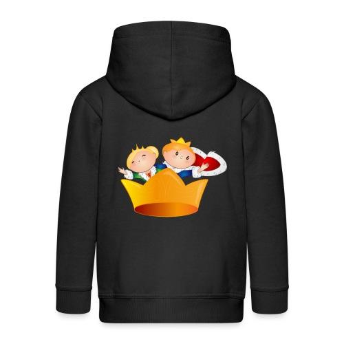 Koning Willem Alexander & Maxima - Kinderen Premium jas met capuchon