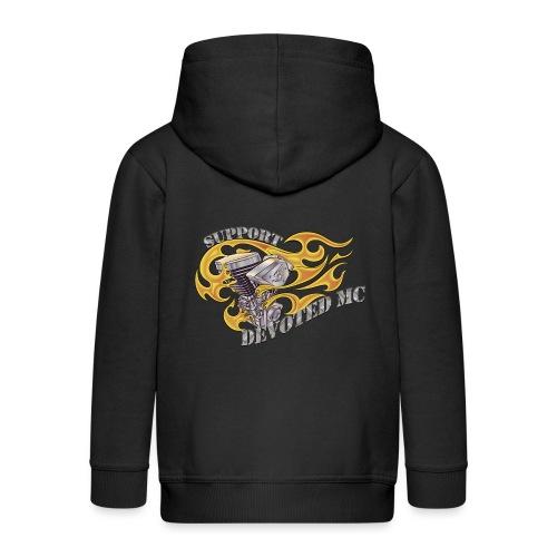 T-Shirt DEVOTEDMC SUPPORTSHOP10005 - Premium Barne-hettejakke