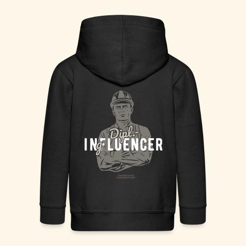Ingenieur T-Shirt Dipl.-Ingfluencer - Kinder Premium Kapuzenjacke