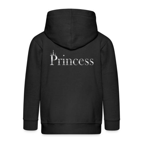 Princess silver - Premium Barne-hettejakke