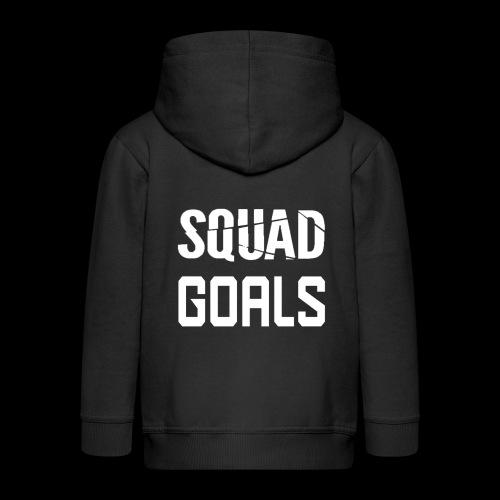 squad goals - Kinderen Premium jas met capuchon