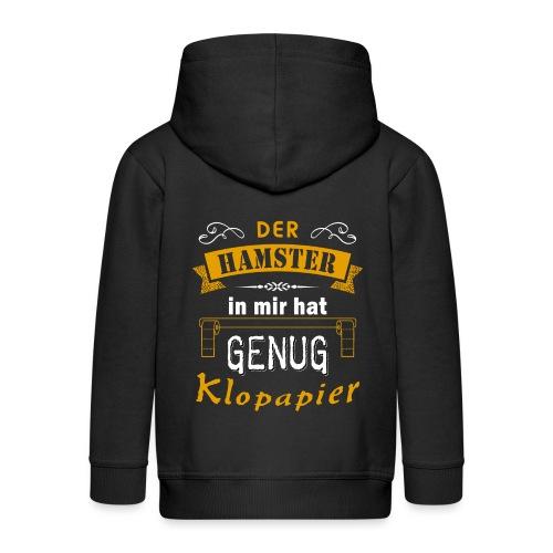 Hamster Hamsterkäufe Klopapier | Humor Sarkasmus - Kinder Premium Kapuzenjacke