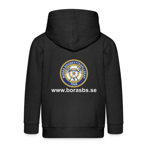 BBS Logo med URL - Premium-Luvjacka barn