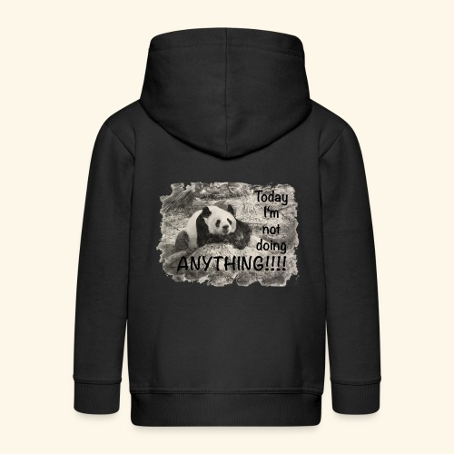 not doing anything4 - Kinder Premium Kapuzenjacke