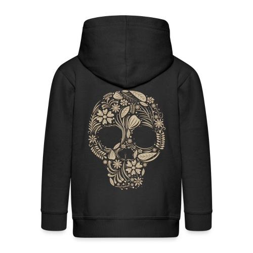 Skull - Chaqueta con capucha premium niño
