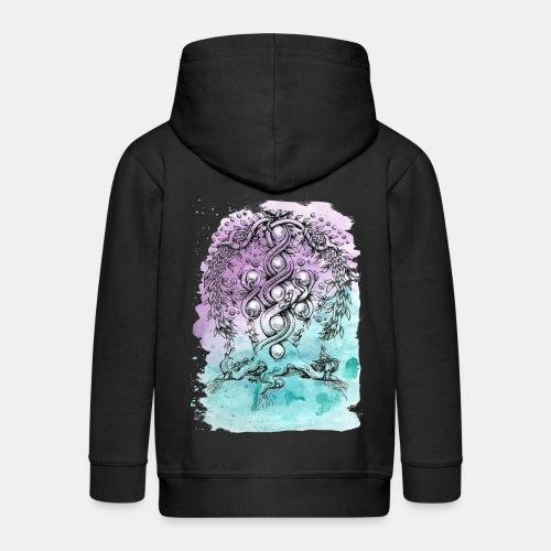 Yggdrasil - Kids' Premium Hooded Jacket