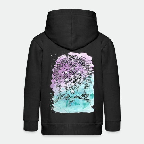 Yggdrasil - Kids' Premium Zip Hoodie