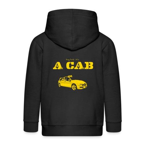 Hey Look It's A CAB - Kinder Premium Kapuzenjacke